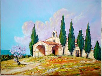 Daniel Liautaud - Artiste Peintre Tableaux paysages provence